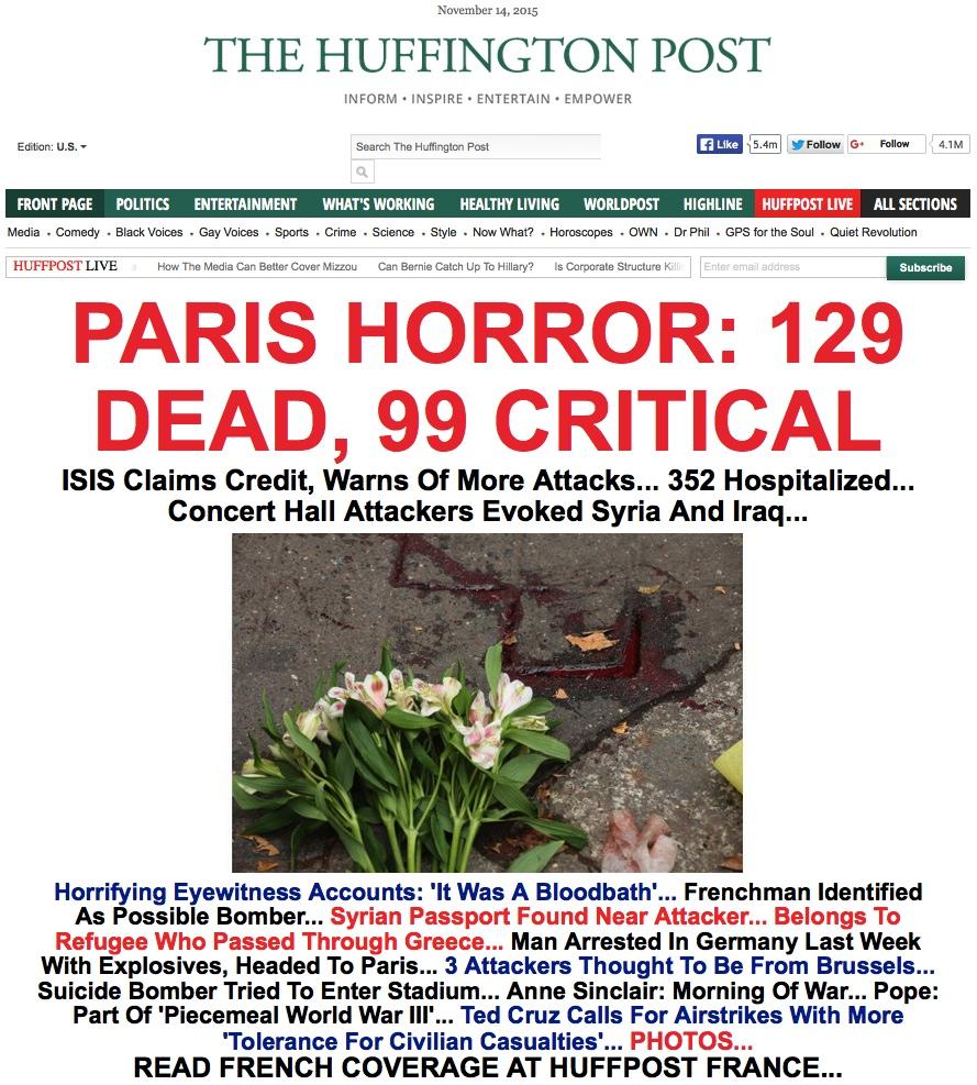 David Wilcock ~ DISCLOSURE SHOWDOWN: The War For The Truth Huff_paris_horror