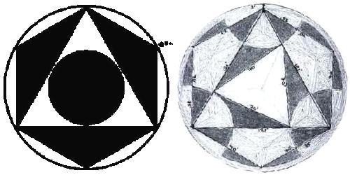 Octahedral Crop Circle Formations 2000