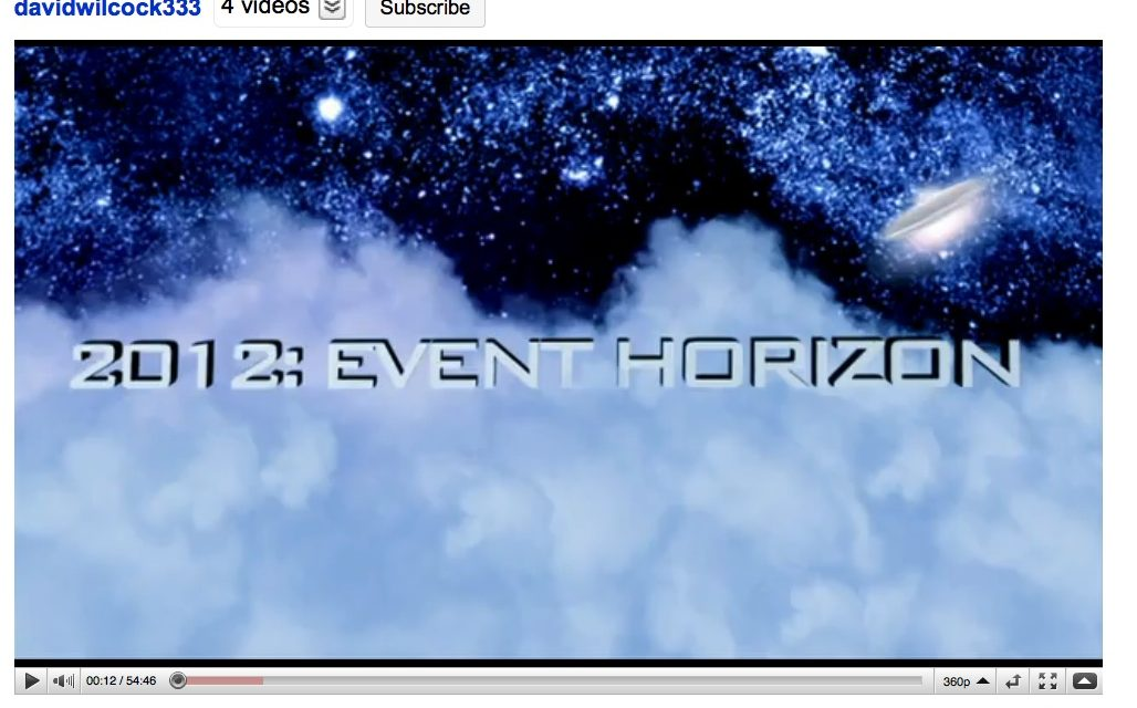 2012 Event Horizon — Official YouTube Launch!