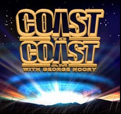 David on Coast with George Noory, August 10th!