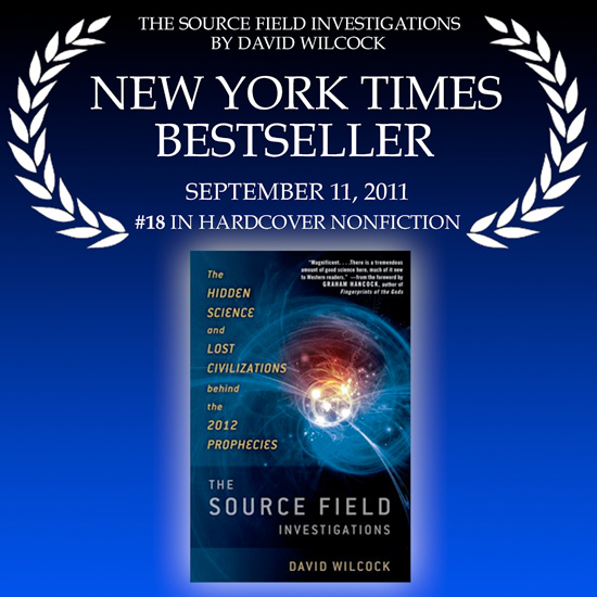 Disclosure Breakthrough: Source Field Debuts at #18 on the NY Times Bestseller List!