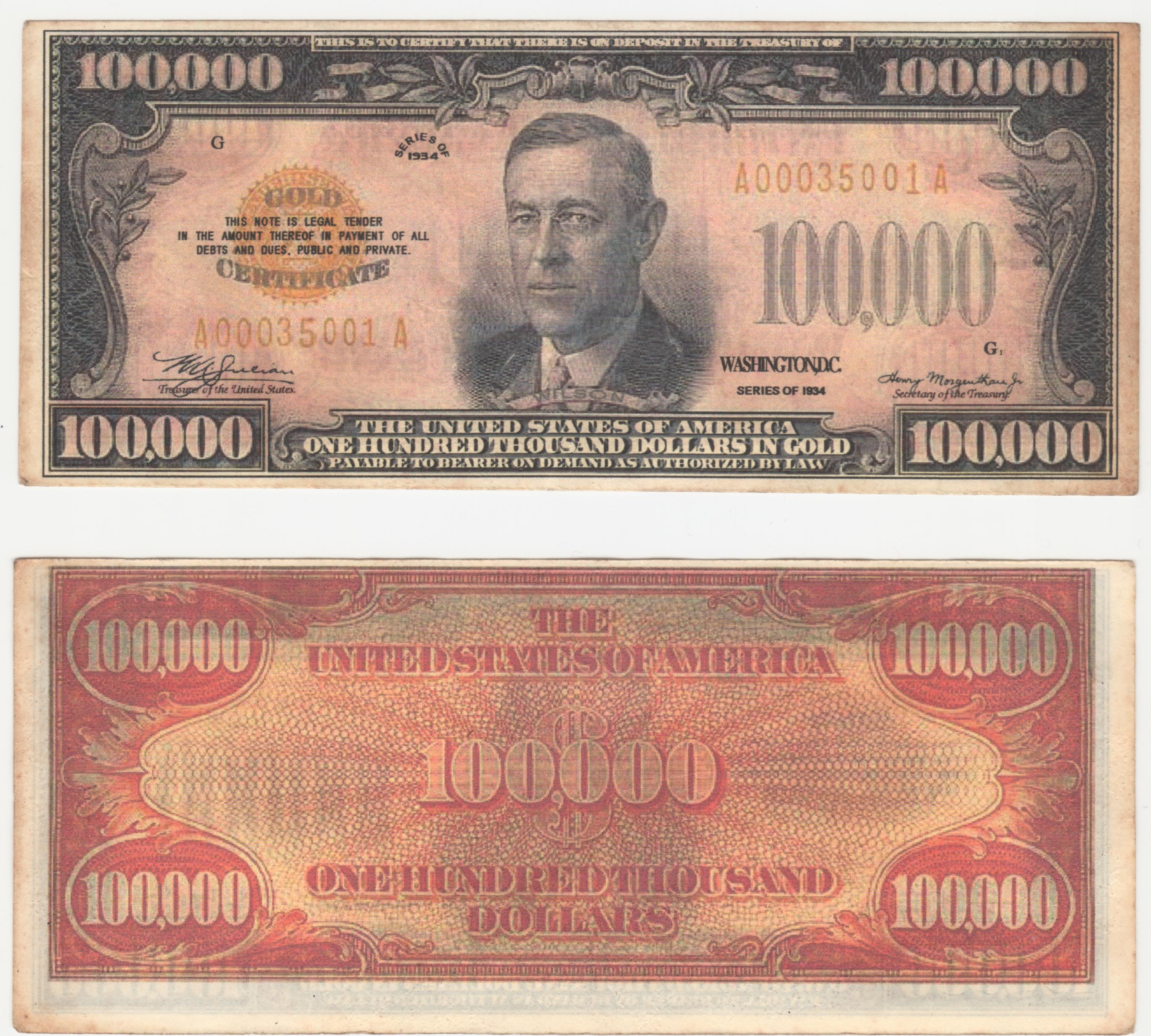 Financial tyranny defeating the greatest cover up of all time detailed view of jp morgan boston 1934 federal reserve gold certificate 1betcityfo Gallery
