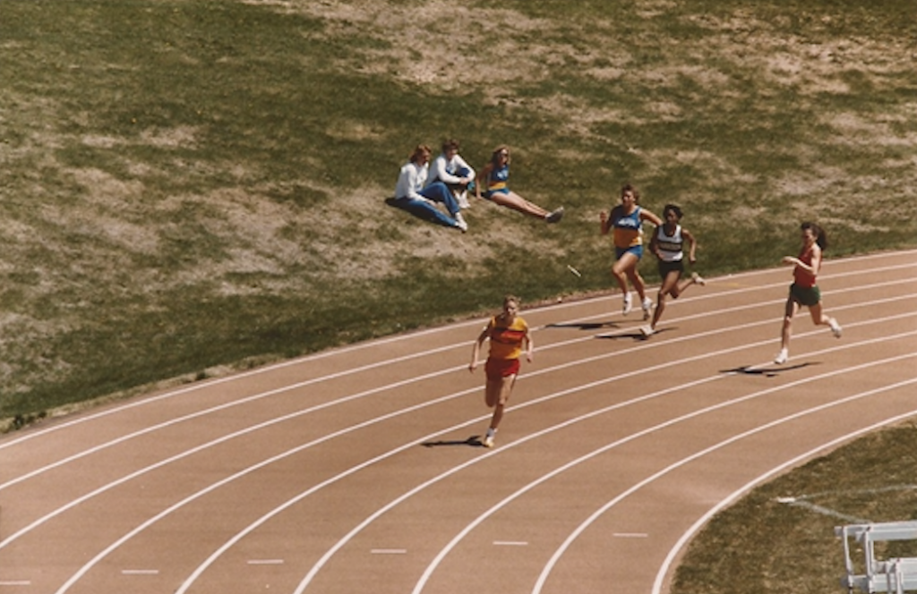 high school track meet 400