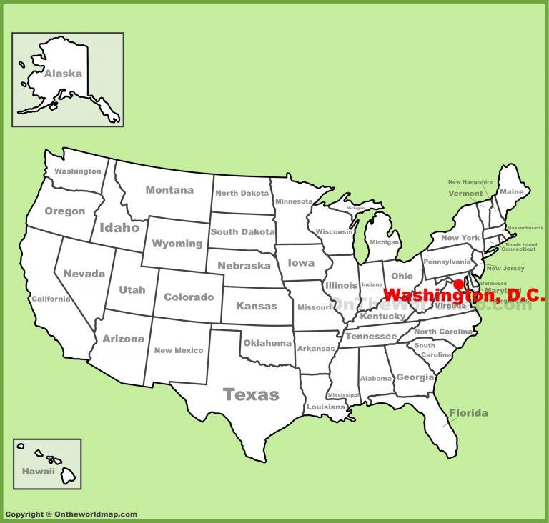ОБНОВЛЕНИЕ. Дэвид Уилкок : Часть 3 (из трех сообщ): Потрясающие Новые Брифинги: Спутники-Шпионы, Аресты Глубинного Государства, Наконец, Неизбежны? Washington-dc-location-on-the-us-map-768x732